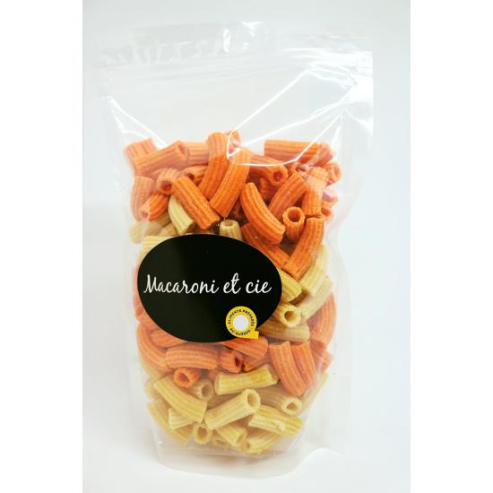 Penne duo nature/poivrons rouge grillés - Macaroni et cie