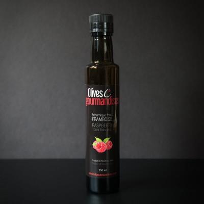 Olives et gourmandises - Vinaigre balsamique foncé au framboise  - 250 ml